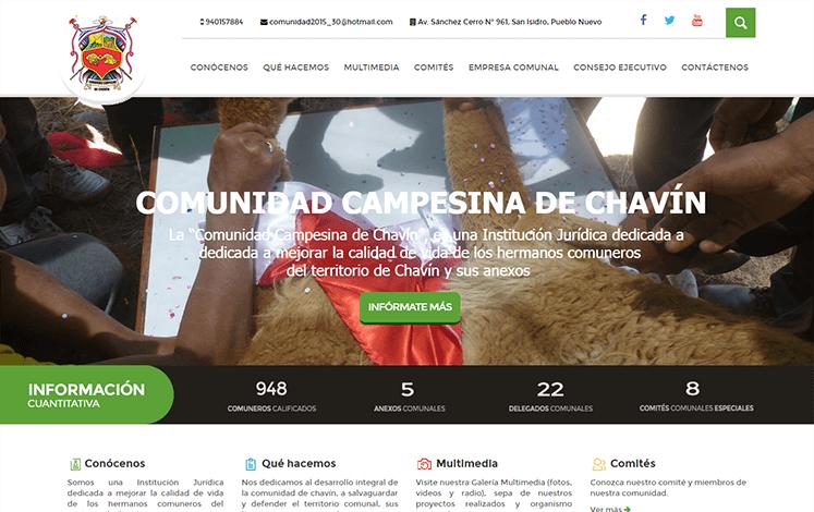 Comunidad Campesina de Chavín