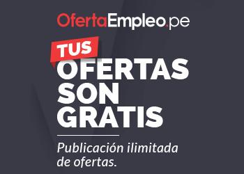 ¡Publica tus ofertas de trabajo GRATIS!
